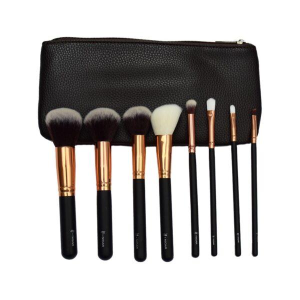 8 Piece Classic Makeup Brush Set