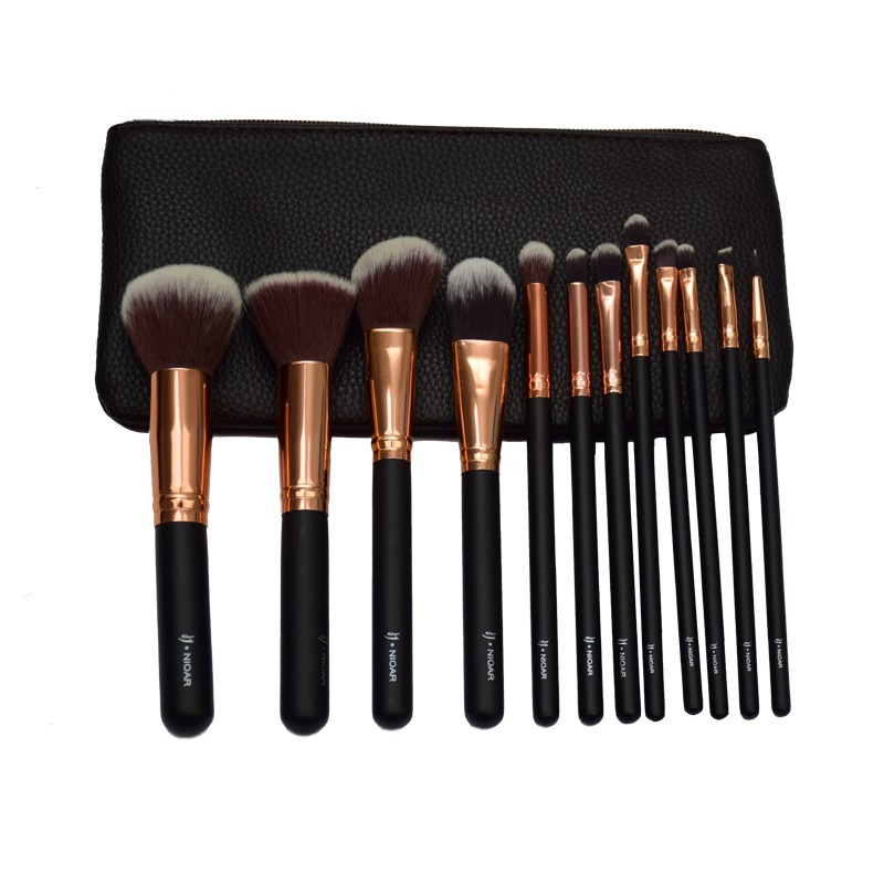 Nioar 12 Piece Complete Makeup Brush set