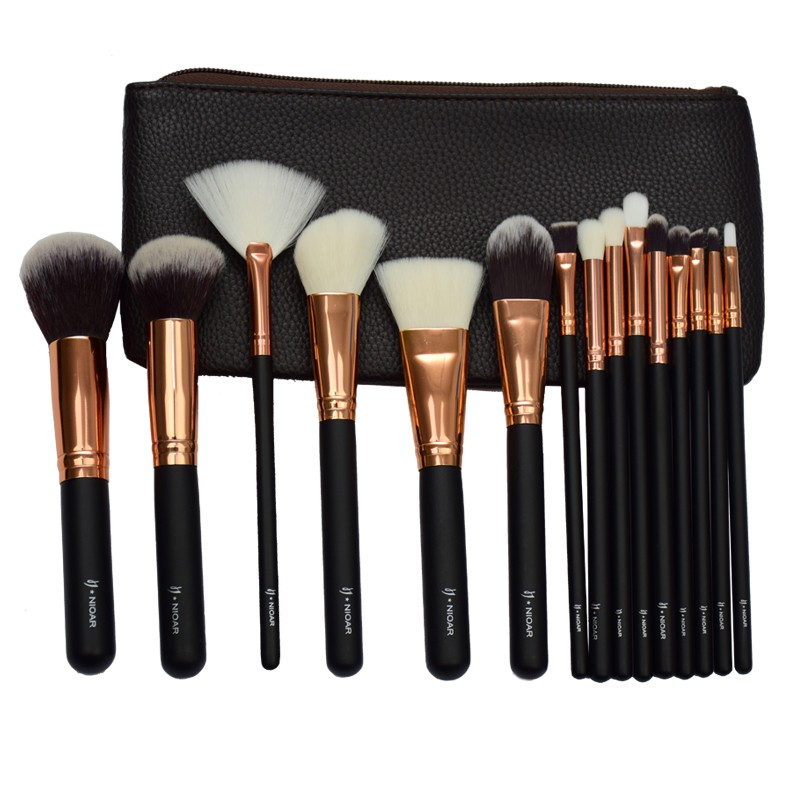 Nioar 15 Piece Complete Brush Set Vol. 1
