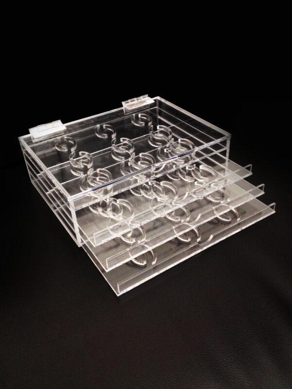 Premium Acrylic Eyelash Organizer-36 Slots