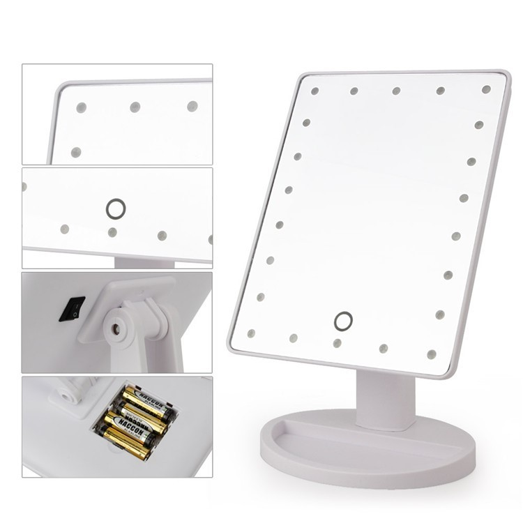 LED Mirrors Pink