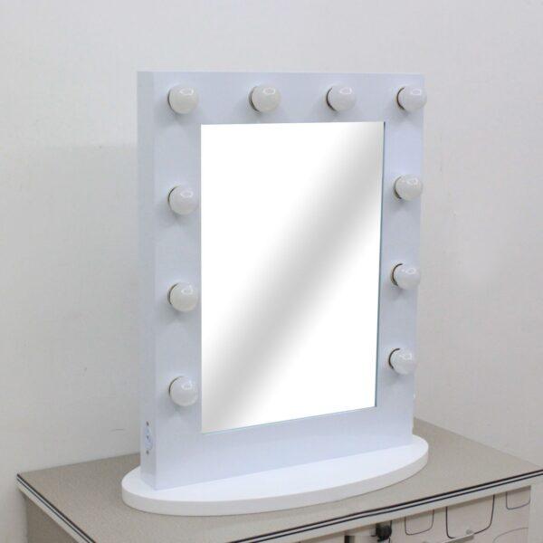 Hollywood Vanity Mirror WHITE