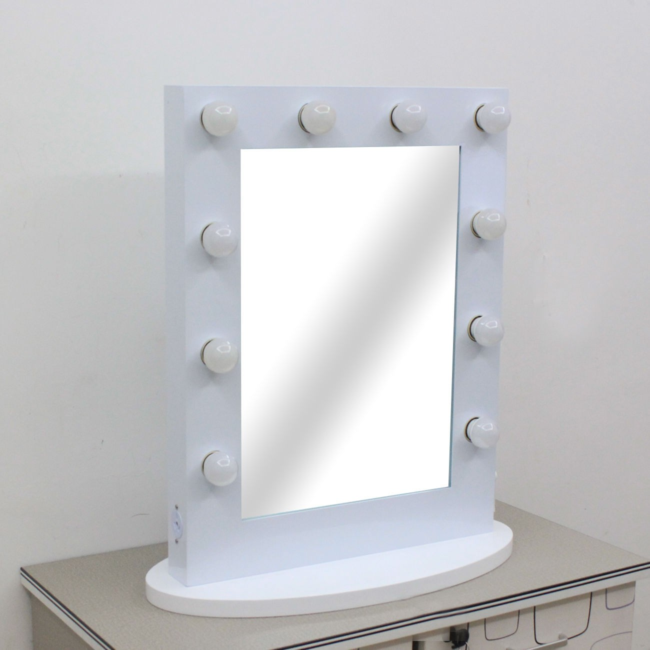 Hollywood Vanity Mirror WHITE